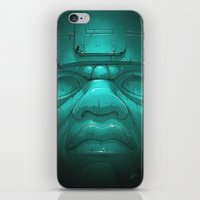 Olmeca III. iPhone & iPod Skin