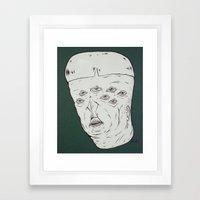 M.h.n.#2 Framed Art Print