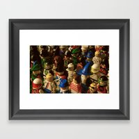 An Army of Imagination  Framed Art Print