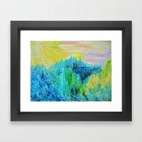 DREAM-SCAPE - Amazing Id… Framed Art Print