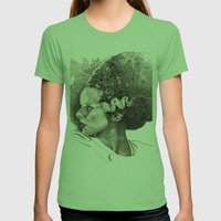 The bride of frankenstein elsa lancaster Womens Fitted Tee Grass SMALL