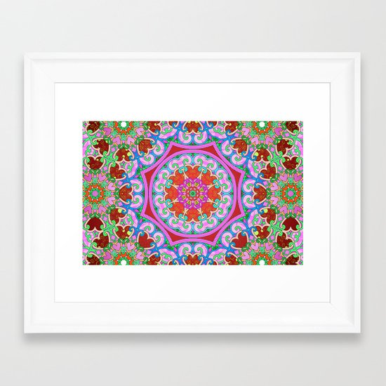 Tons of Love Framed Art Print