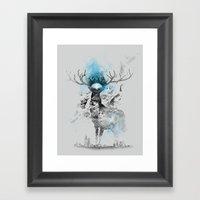 I'm Trap Framed Art Print