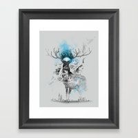 I'm Trap Framed Art Print