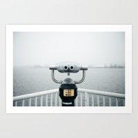 Quay Art Print
