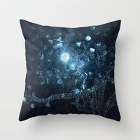travel to fairy tale Throw Pillow