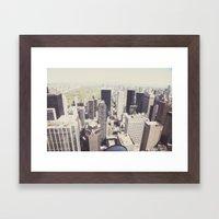 the city::nyc Framed Art Print