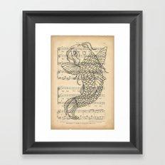 Koi... Framed Art Print
