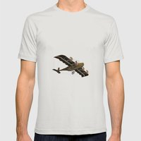 Santa Fe Mens Fitted Tee Silver SMALL