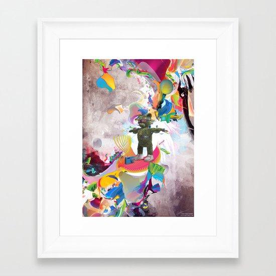 Forever my Love Framed Art Print
