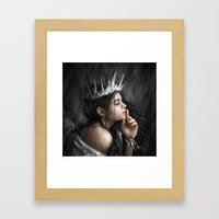 Queen Of Secrets  Framed Art Print
