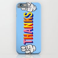"iPhone & iPod Case featuring ""Thanks"" by Carl Floyd Medley III"