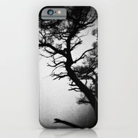 iPhone & iPod Case featuring Tree in the fog by Ni.Ca.