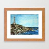 Cabo de Palos Framed Art Print