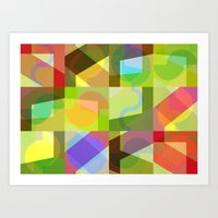 Colorful Truth. Shuffle 1 Art Print