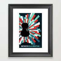 Shostakovich Cello Conce… Framed Art Print