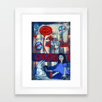 2010 Whats the use? Framed Art Print