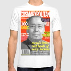 COSMARXPOLITAN, Issue 9 Mens Fitted Tee SMALL White