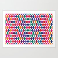 Party Colors Art Print