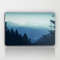 Blue Valmalenco - Alps at sunrise Laptop & iPad Skin