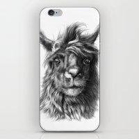 Cute Llama G2013-068 iPhone & iPod Skin