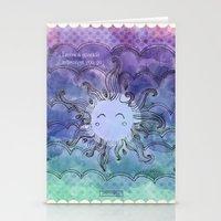 Sparkles Stationery Cards