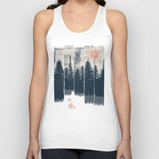 A Fox in the Wild... Unisex Tank Top