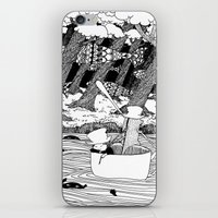 Traveling Through The Fo… iPhone & iPod Skin