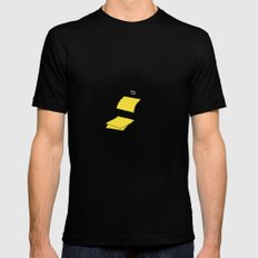 polaroid camera Mens Fitted Tee Black SMALL