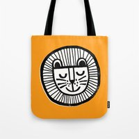 HAPPY LION Tote Bag