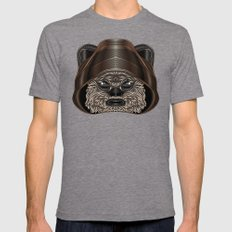 Star . Wars - Ewok Mens Fitted Tee Tri-Grey SMALL