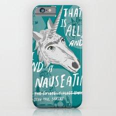 The Existentialist Unicorn Slim Case iPhone 6s
