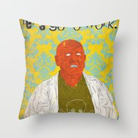 Let's Go To Work Throw Pillow