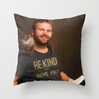 Well, Since You Ask Me F… Throw Pillow
