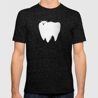 Molar Bear Mens Fitted Tee Tri-Black SMALL