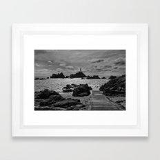 La Corbiere Lighthouse  Framed Art Print