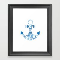 Anchor Framed Art Print