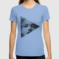 Monroe Womens Fitted Tee Athletic Blue SMALL