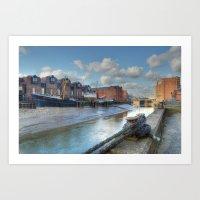 River Hull Art Print