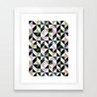 Geometric Pattern 01 Framed Art Print
