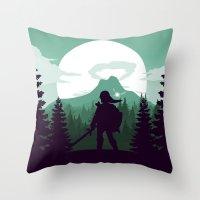 The Legend of Zelda - Green Version Throw Pillow