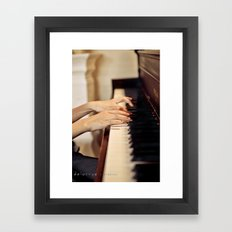 Let them play Framed Art Print