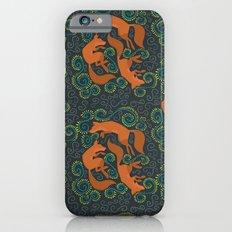 Foxy Pattern Slim Case iPhone 6s