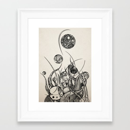 Bothria Framed Art Print