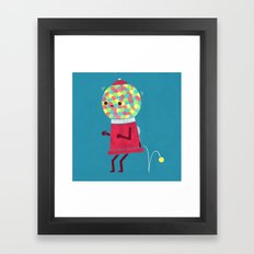 When You Gotta Go Framed Art Print