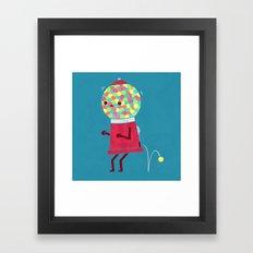 When You Gotta Go Framed Art Print