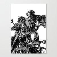 Gang Girl Canvas Print