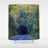 Dream tunnel  Shower Curtain