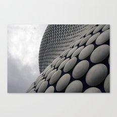 Wall Of Disks Canvas Print