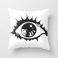 V-isionary Throw Pillow
